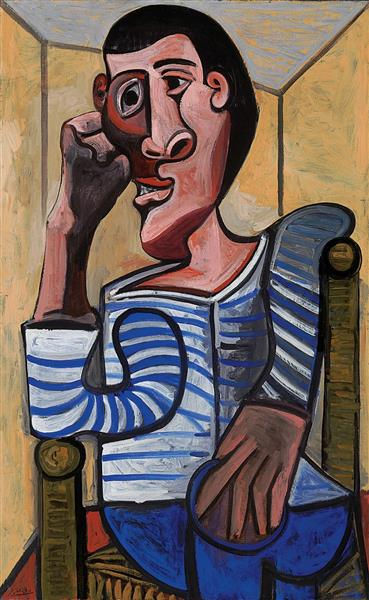 Pablo Picasso Classical Oil Paintings Le Marin
