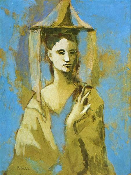 Pablo Picasso Paintings Mallorcan Mallorquine Female Portrait