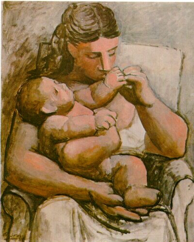 Pablo Picasso Mother And Child Mere Et Enfant Neoclassicism