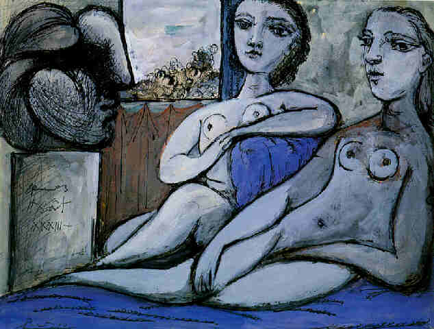 Pablo Picasso Classical Paintings Nudes And Bust Nus Avec Buste