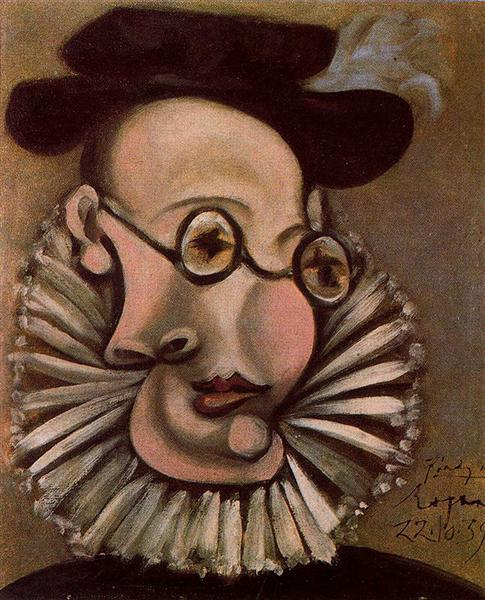 Pablo Picasso Oil Painting Portrait Of Jaime Sabartes As Grandee