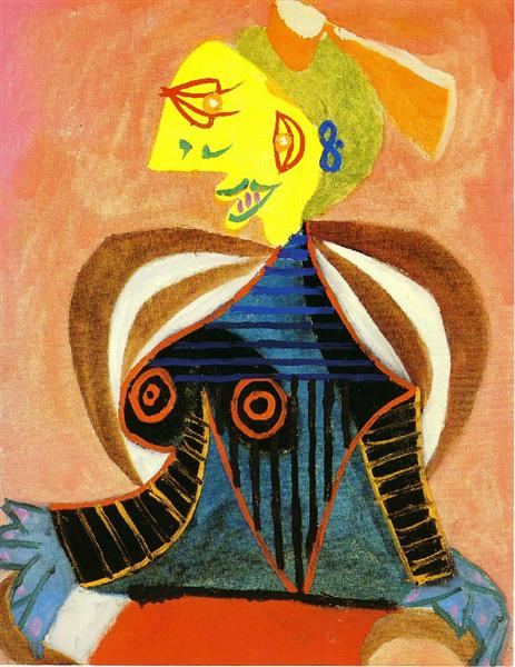 Pablo Picasso Oil Painting Portrait Of Lee Miller As Arlesienne