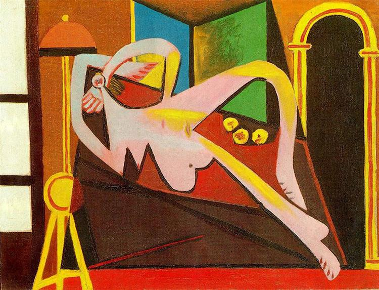 Pablo Picasso Reclining Woman Femme Couchee Surrealism