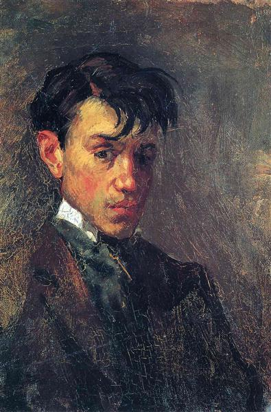 Pablo Picasso Classical Oil Painting Self Portrait