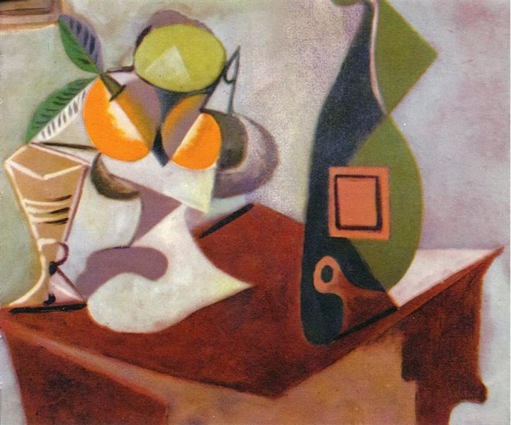 Pablo Picasso Oil Paintings Still Life With Lemon And Oranges