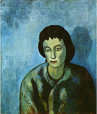 Pablo Picasso Classical Oil Paintings The Woman With The Edge