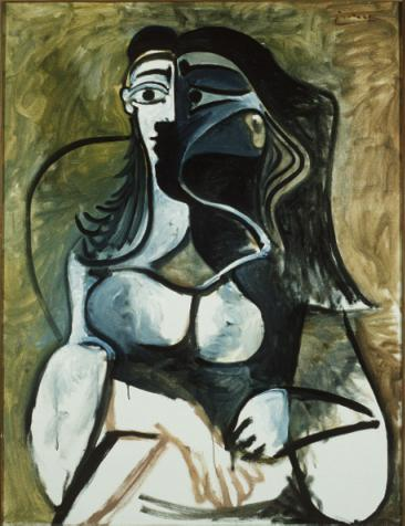 Pablo Picasso Oil Paintings Woman In Armchair Female Portraits