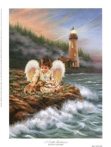 Dafen Oil Painting on canvas -angel04