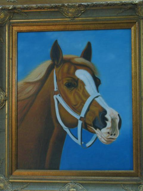 Dafen Oil Painting on canvas -horse041