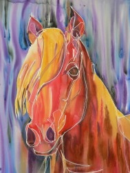 Dafen Oil Painting on canvas -horse072