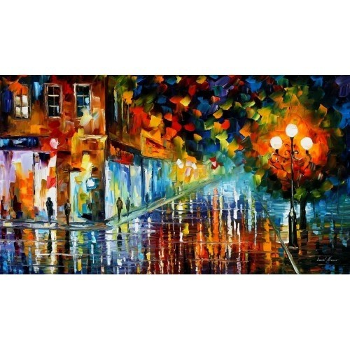 Modern impressionism palette knife oil painting kp152