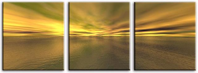 Dafen Oil Painting on canvas sunglow -set052