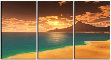 Dafen Oil Painting on canvas seascape -set056