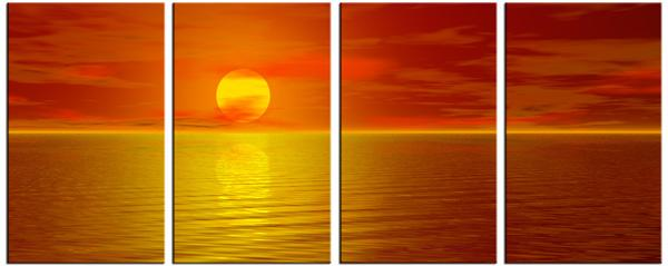 Dafen Oil Painting on canvas seascape -set075