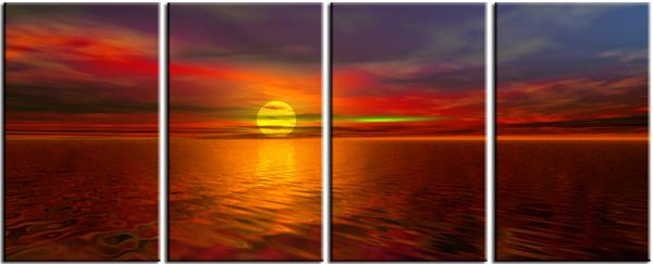 Dafen Oil Painting on canvas seascape -set084
