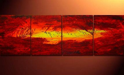 Dafen Oil Painting on canvas abstract -set116