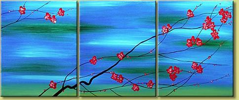 Dafen Oil Painting on canvas flower -set120
