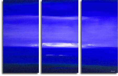 Dafen Oil Painting on canvas seascape -set124