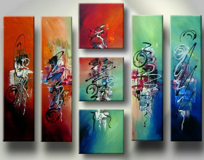 Dafen Oil Painting on canvas abstract -set133
