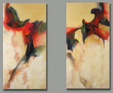 Dafen Oil Painting on canvas abstract-set148