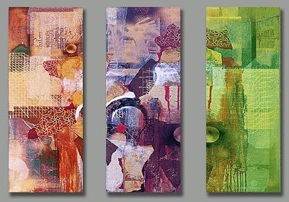Dafen Oil Painting on canvas abstract -set162