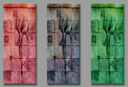 Dafen Oil Painting on canvas abstract -set165