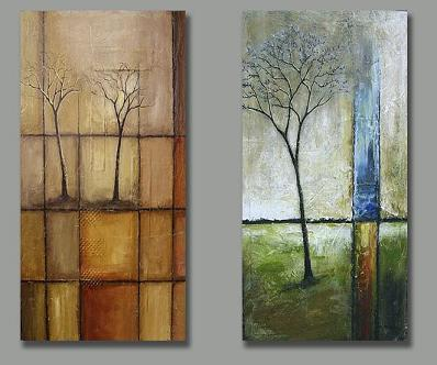 Dafen Oil Painting on canvas abstract-set167