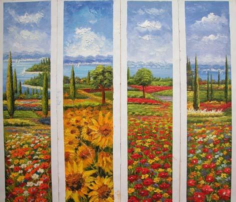 Dafen Oil Painting on canvas country -set180
