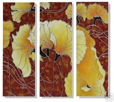 Dafen Oil Painting on canvas flower -set227