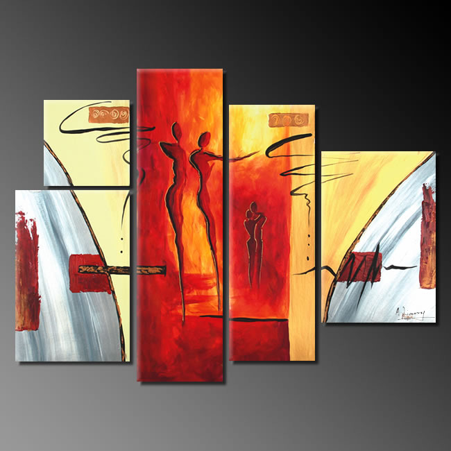 Dafen Oil Painting on canvas abstract painting -set255