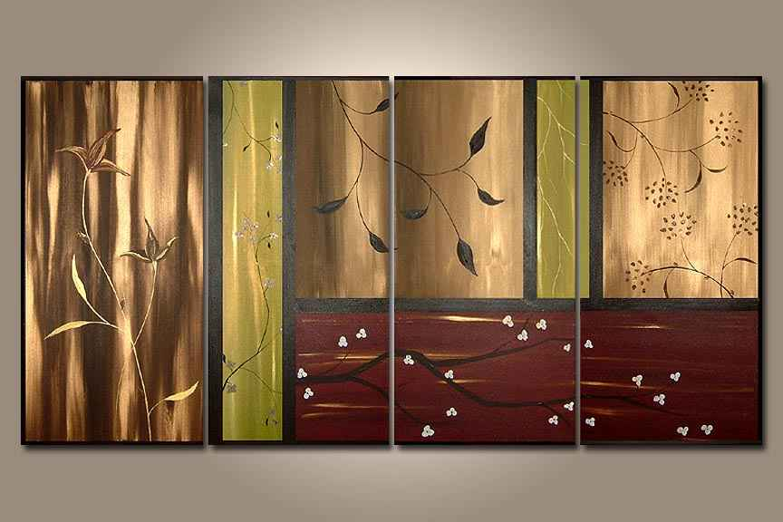 Dafen Oil Painting on canvas abstract -set256