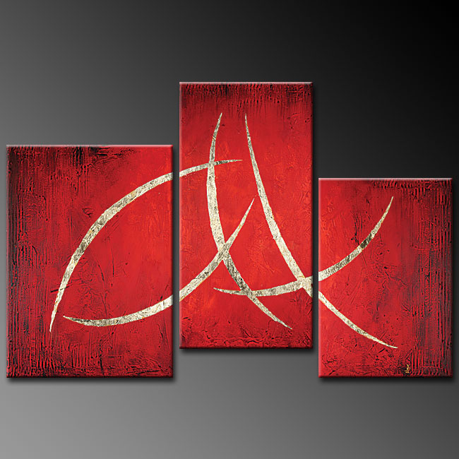 Dafen Oil Painting on canvas abstract -set 257