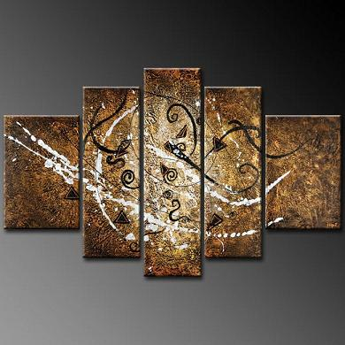 Dafen Oil Painting on canvas abstract painting -set270