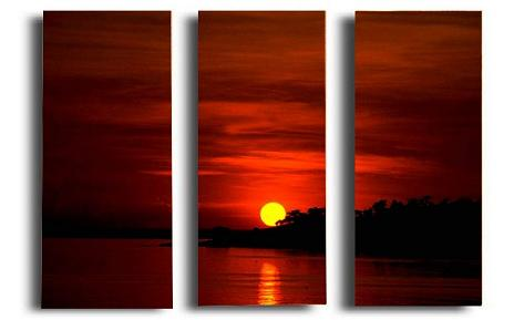 Dafen Oil Painting on canvas sunglow -set278