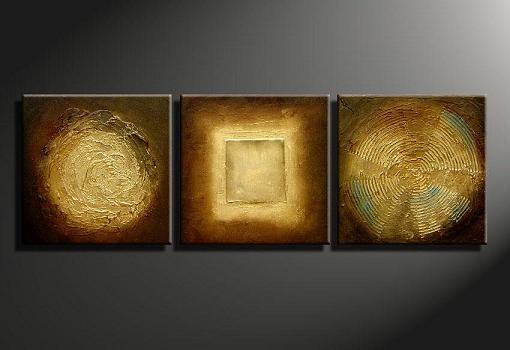 Dafen Oil Painting on canvas abstract -set280
