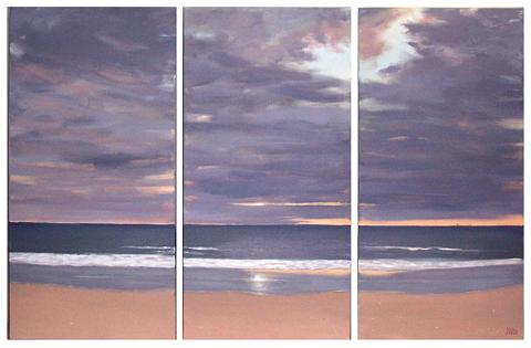 Dafen Oil Painting on canvas seascape -set287