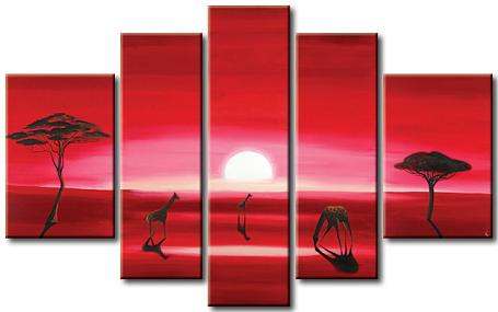 Dafen Oil Painting on canvas absrtact painting -set361
