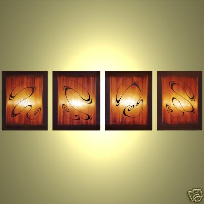 Dafen Oil Painting on canvas abstract -set364