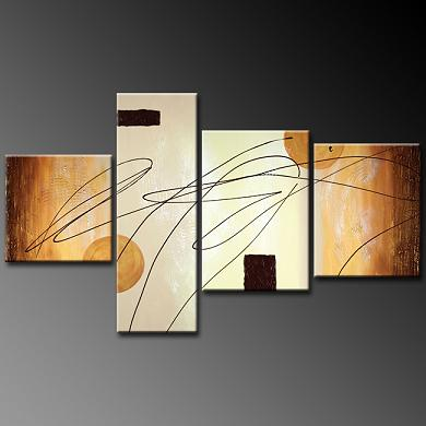 Dafen Oil Painting on canvas abstract -set377
