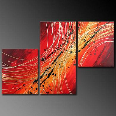 Dafen Oil Painting on canvas abstract -set378