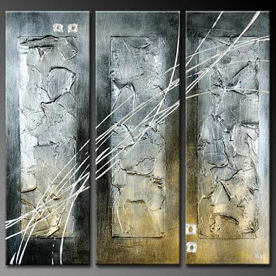 Dafen Oil Painting on canvas abstract -set379