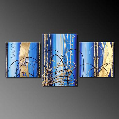Dafen Oil Painting on canvas absrtact -set382