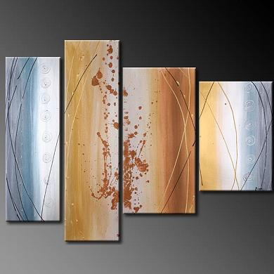 Dafen Oil Painting on canvas abstract -set385