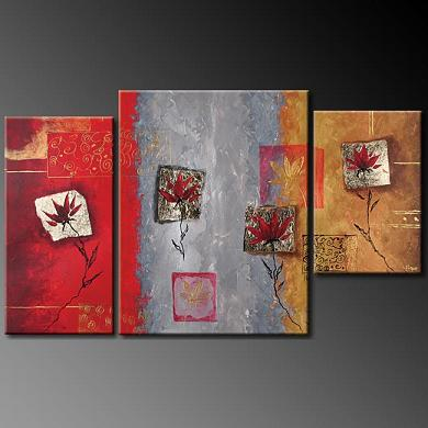 Dafen Oil Painting on canvas abstract -set386