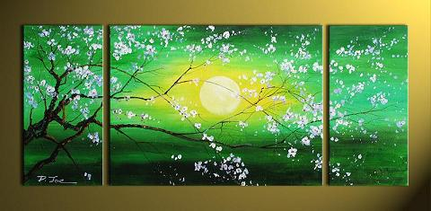 Dafen Oil Painting on canvas flower -set393