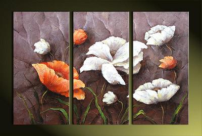 Dafen Oil Painting on canvas water lily -set394