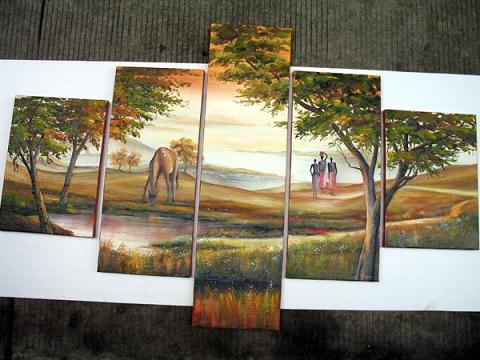 Dafen Oil Painting on canvas absrtact painting -set441