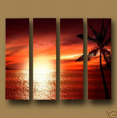 Dafen Oil Painting on canvas seascape -set452