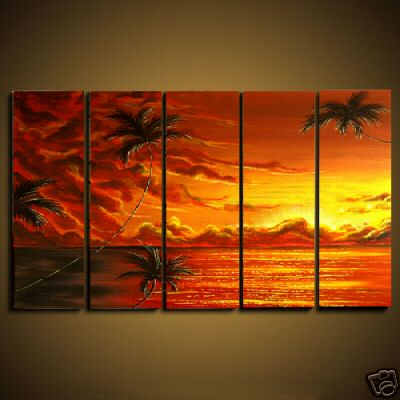 Dafen Oil Painting on canvas seascape painting -set461