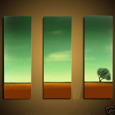 Dafen Oil Painting on canvas sunglow -set466